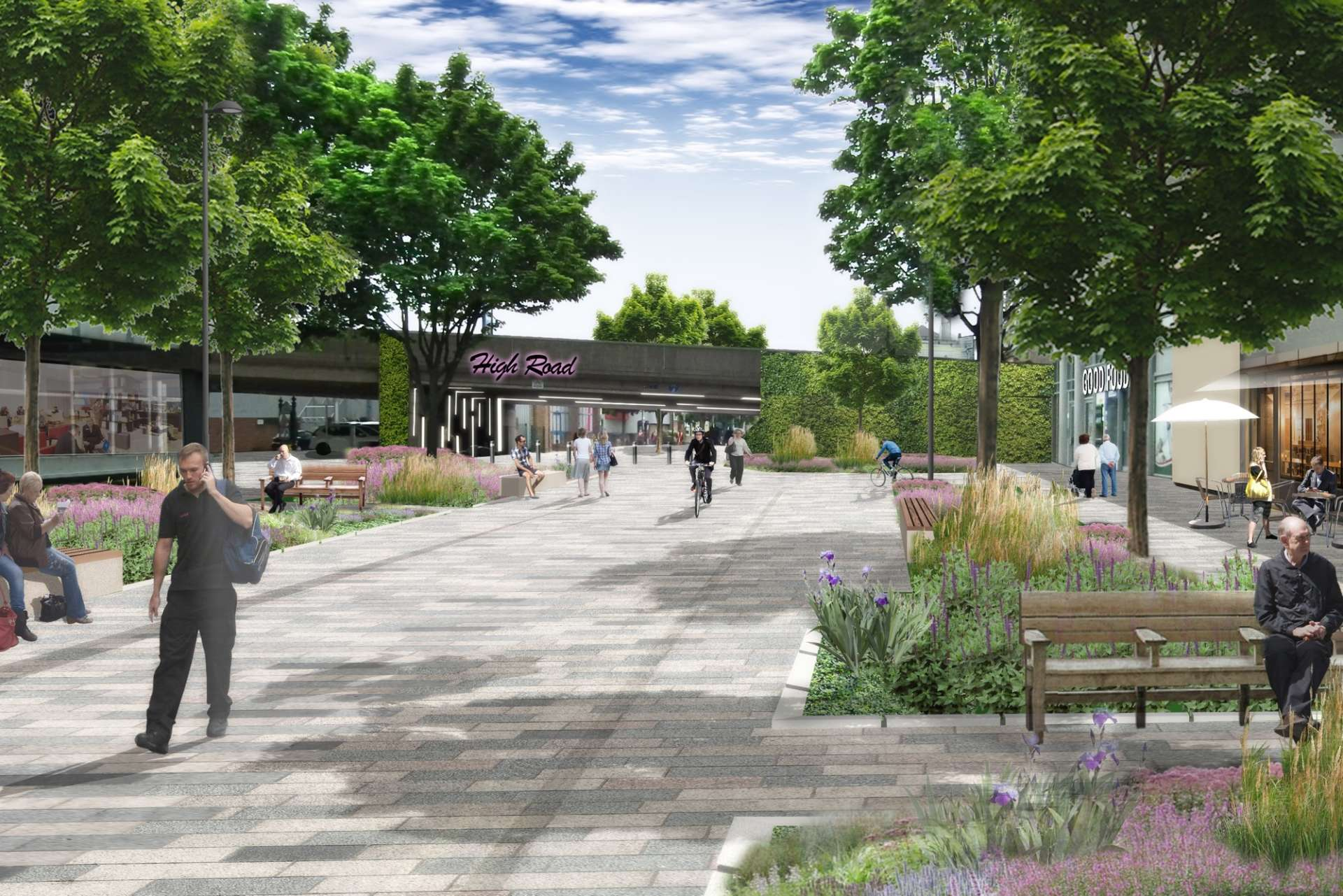 Ilford Town Centre Transformation