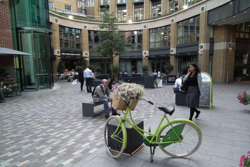 St Martins Courtyard, Covent Garden